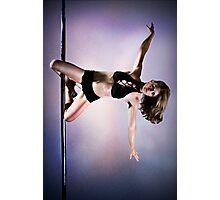 Pole Art - Knee hold II Photographic Print