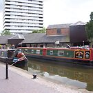 Canal boats at Coventry by nealbarnett