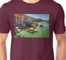 Crowded Venice Unisex T-Shirt