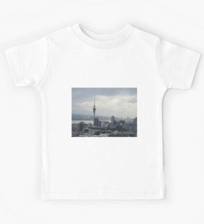 New Zealand Skyline Kids Tee