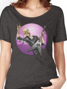 Devin Townsend Guitar Purple Circle Women's Relaxed Fit T-Shirt