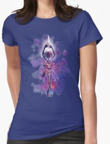 Space Pearl Womens Fitted T-Shirt