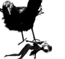 Barbie Carried Away By Monsterbird Sticker