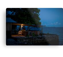 the Cafe, Jabor, Jaluit, Marshall Islands Metal Print