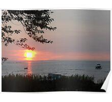Collingwood sunset Poster