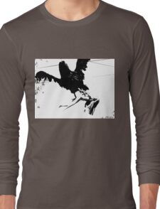 Giant Monsterbird Continues his Nefarious Journey Long Sleeve T-Shirt