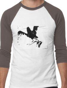 Giant Monsterbird Continues his Nefarious Journey Men's Baseball ¾ T-Shirt