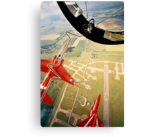Red Arrows Gypo Roll Canvas Print