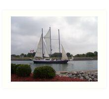 lake Ontario sails........ Art Print