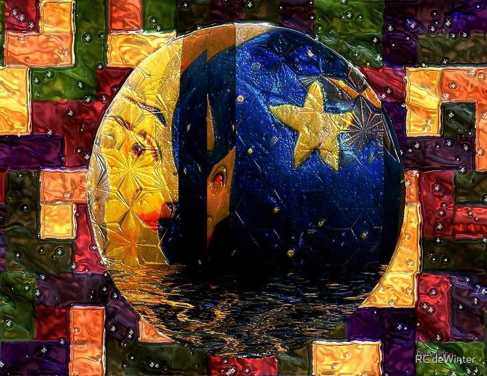 The Moon Has a Bath by RC deWinter