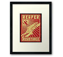 Reaper Resistance Framed Print