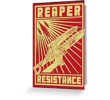 Reaper Resistance Greeting Card