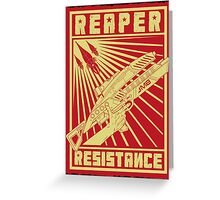 Reaper Resistance Greeting Card