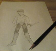 My Sketch  by claytus4