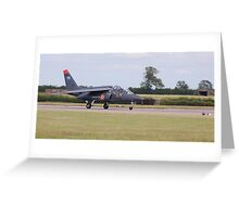 Dassault-Dornier Alpha Jet E 705-AD, French Air Force Greeting Card
