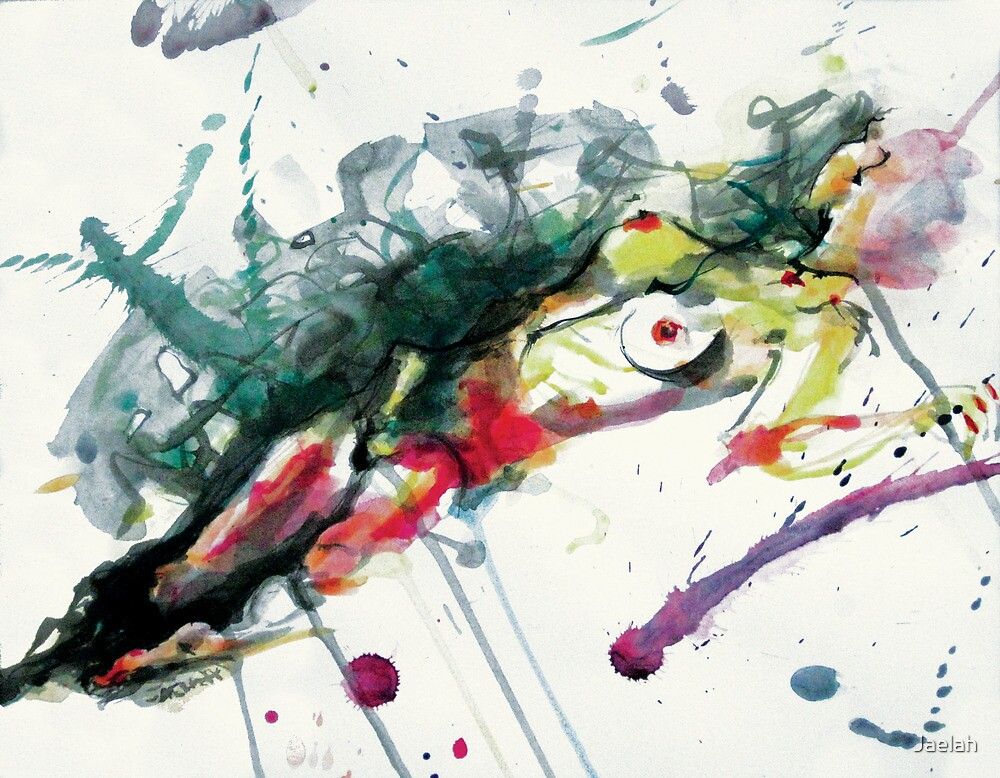 Splatter Nude by Jaelah
