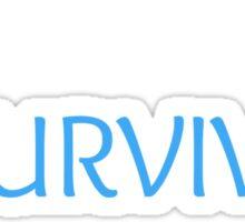 Bulimia Survivor Sticker