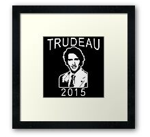 JUSTIN TRUDEAU FOR CANADA Framed Print