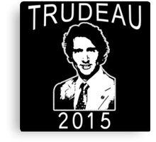 JUSTIN TRUDEAU FOR CANADA Canvas Print