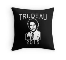 JUSTIN TRUDEAU FOR CANADA Throw Pillow