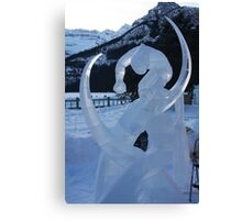 Ice Sculpture.   Canvas Print
