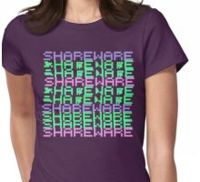 Vaporwave-Shareware Pastel Palette Womens Fitted T-Shirt