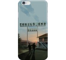 Trails End iPhone Case/Skin