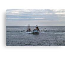 Trawler Tag #1 Canvas Print
