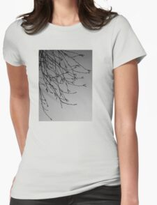Tree Gentleness Womens Fitted T-Shirt