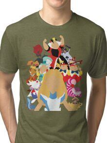 Curiouser and Curiouser... Tri-blend T-Shirt