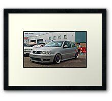 VW Polo GTI @ Detailed 2010 Framed Print