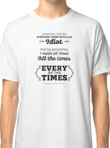 The Office Dunder Mifflin - Kevin Malone - Every of the Times Classic T-Shirt
