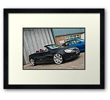 VW Eos @ Detailed 2010 Framed Print