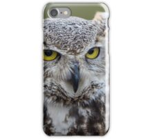 The Owl's Regard iPhone Case/Skin
