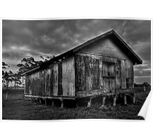 Dilapidated Shed Poster