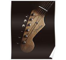 Guitar Icon : '62 Strat Poster