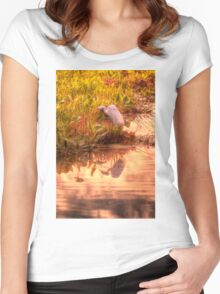 Dawn Mannington Meadows, It's Going to be a Great Day Women's Fitted Scoop T-Shirt