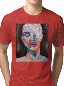 Mitch Abstract art.  Tri-blend T-Shirt