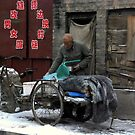 Ping Yao - Go to work. by Jean-Luc Rollier