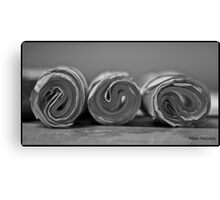 Paper Roll - Bored In The Office Canvas Print