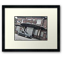 VW Golf MK3 GTI Outside Pub Framed Print