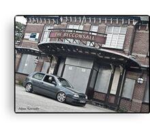 VW Golf MK3 GTI Outside Pub Canvas Print