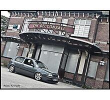 VW Golf MK3 GTI Outside Pub Photographic Print