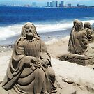 Sand Sculpture (photo) by James Zickmantel