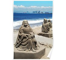 Sand Sculpture (photo) Poster