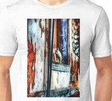Ghost Kitty in the Window Unisex T-Shirt