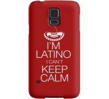 I'm Latino I can't keep calm Samsung Galaxy Case/Skin