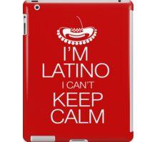 I'm Latino I can't keep calm iPad Case/Skin