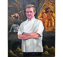 Portrait of Chef Gordon Ramsay Photographic Print