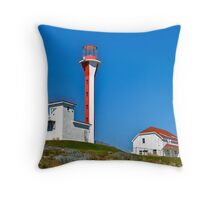 Cape Forchu Lightstation III Throw Pillow